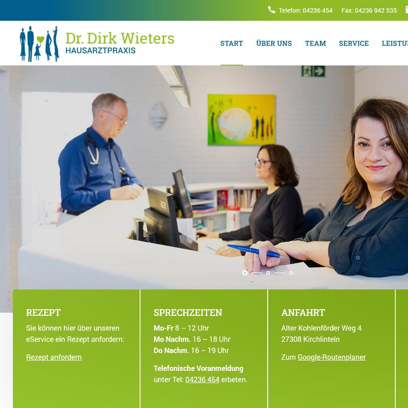 Webdesign Bremen Wieters