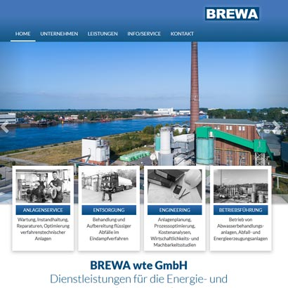 Webdesign Bremen Brewa