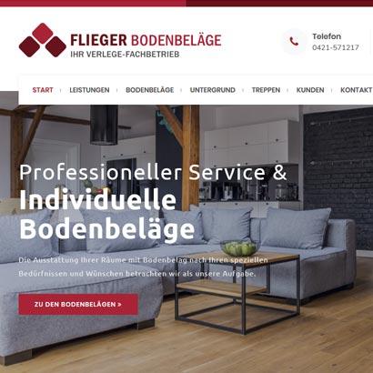 Webdesign Bremen Flieger