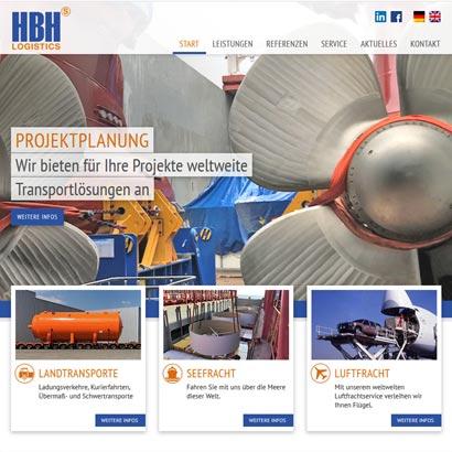 Webdesign Bremen HBH