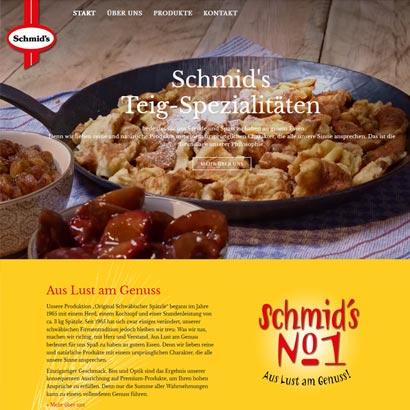 Webdesign Bremen Schmid