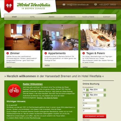 Webdesign Bremen Westfalia